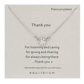 Thank you for listening sentiment necklace Thumbnail 1