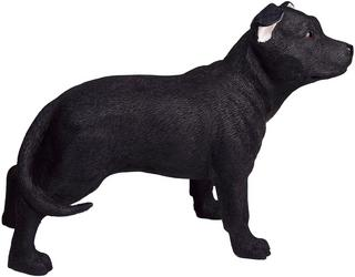 Black Staffordshire Terrier Figurine Thumbnail 1