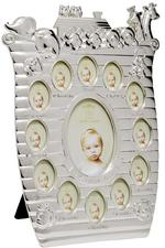 Leonardo Silver Plated Noahs Ark My First Year Photo Frame
