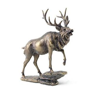 Reflection Bronze Stag Thumbnail 1