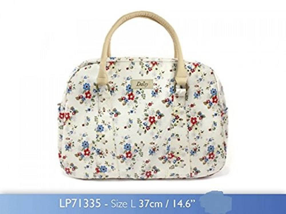 Daisy Summer Zipped Handbag