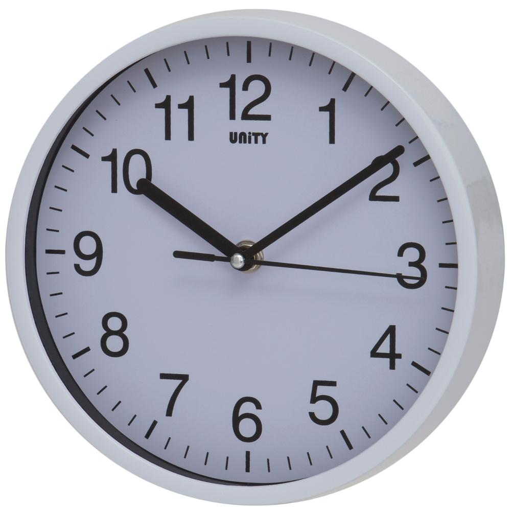Radcliffe Sweep Clock in White