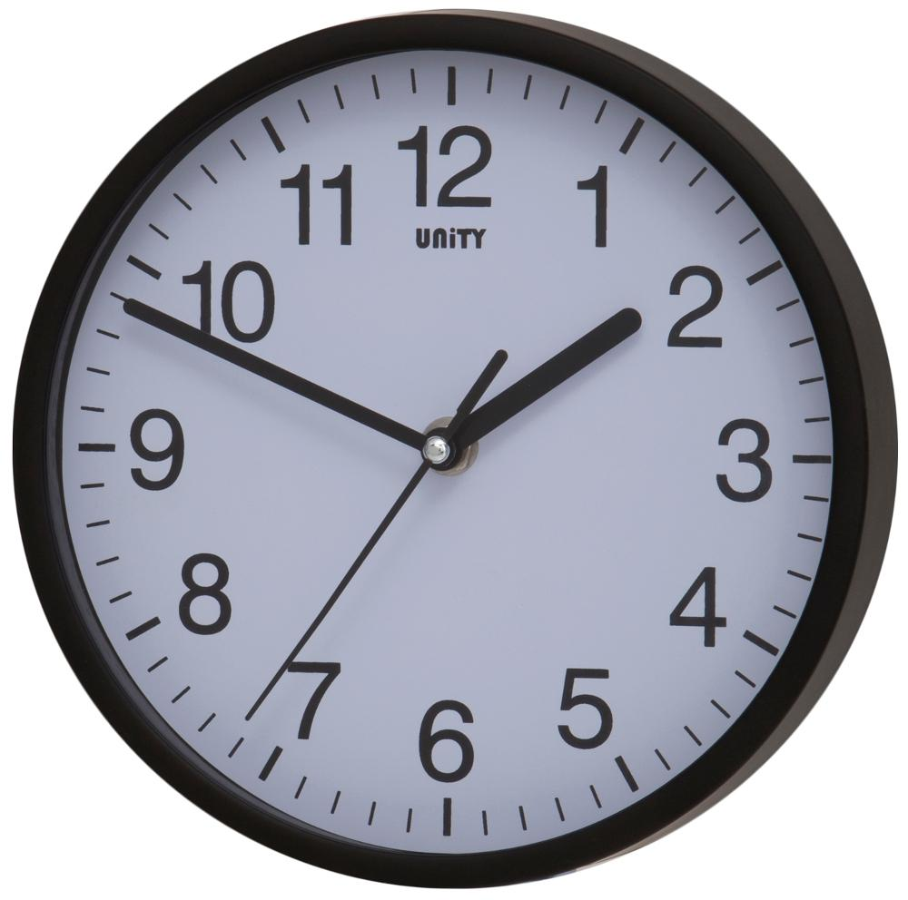 Radcliffe Sweep Clock in Black