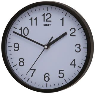 Radcliffe Sweep Clock in Black Thumbnail 1