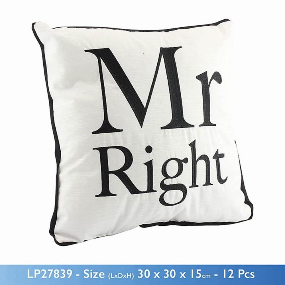 Cosy Cushion Mr Right