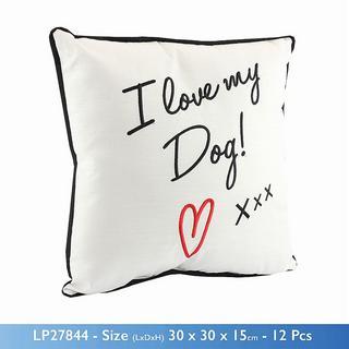 I Love My Dog Cushion Thumbnail 1