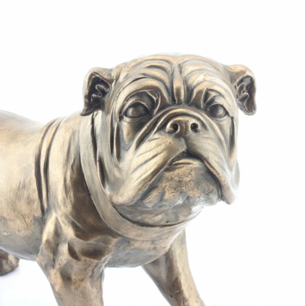 Art Bronze Bulldog Medium