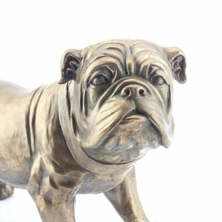 Art Bronze Bulldog Medium Thumbnail 1