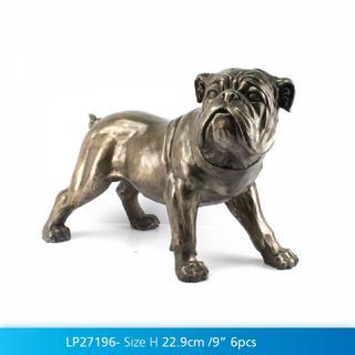 Art Bronze Bulldog Medium Thumbnail 2