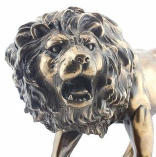Art Bronze Jungle Lion Thumbnail 1