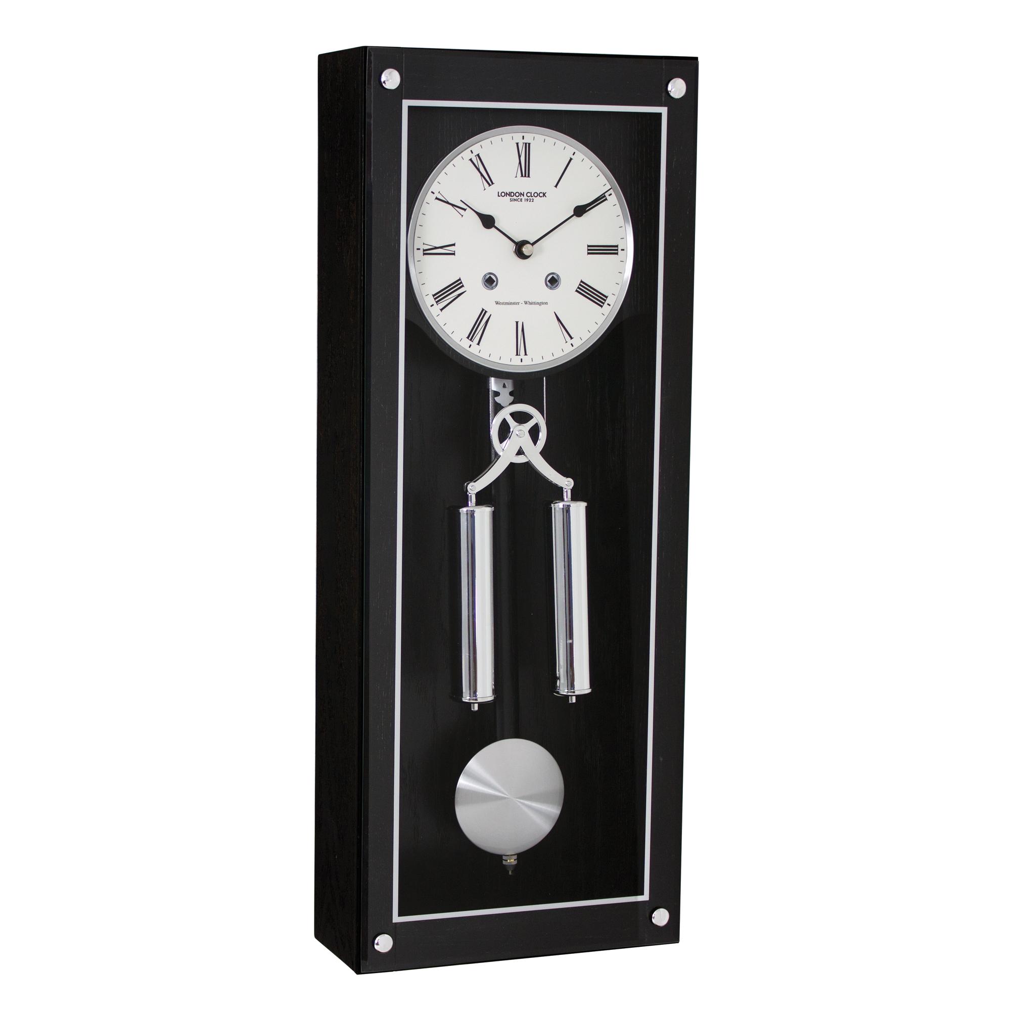 Dark Wood Pendulum Clock Adelbrook Discount Store