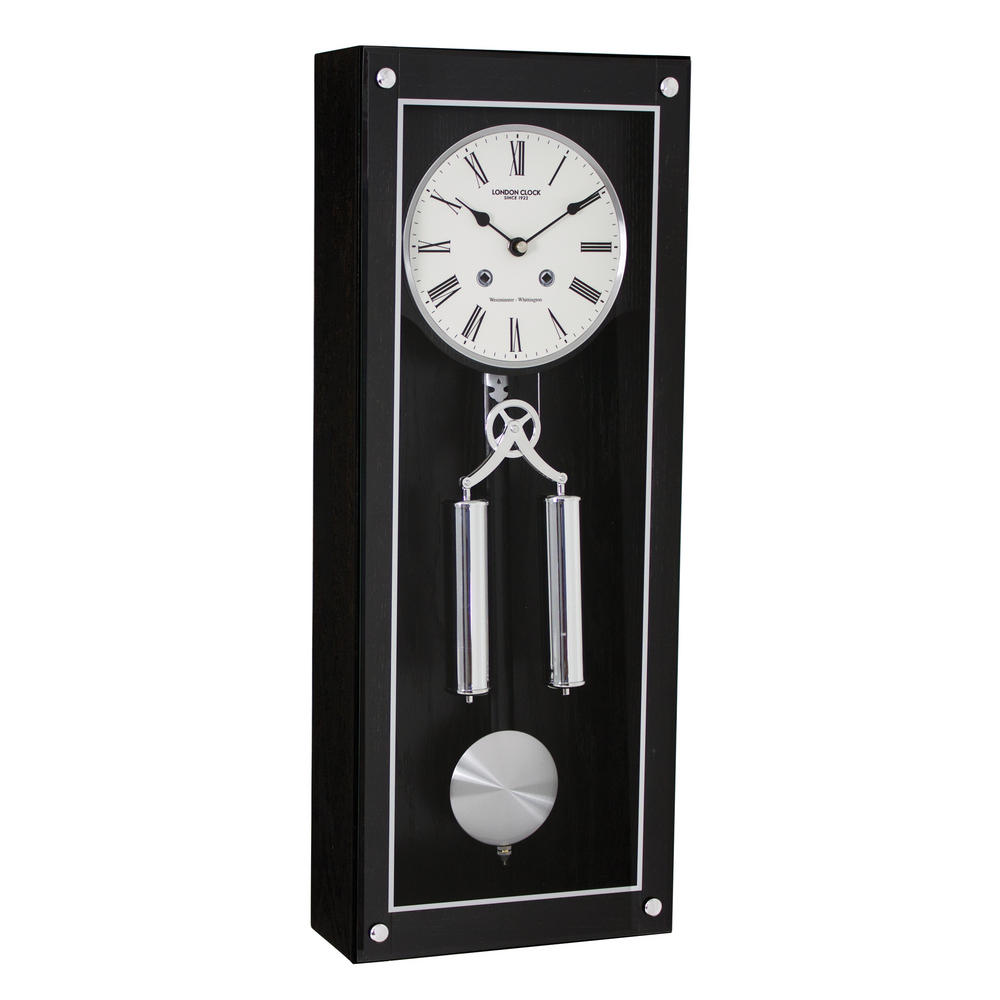 Dark Wood Pendulum Clock