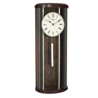 Curved Pendulum Wall Clock Thumbnail 1