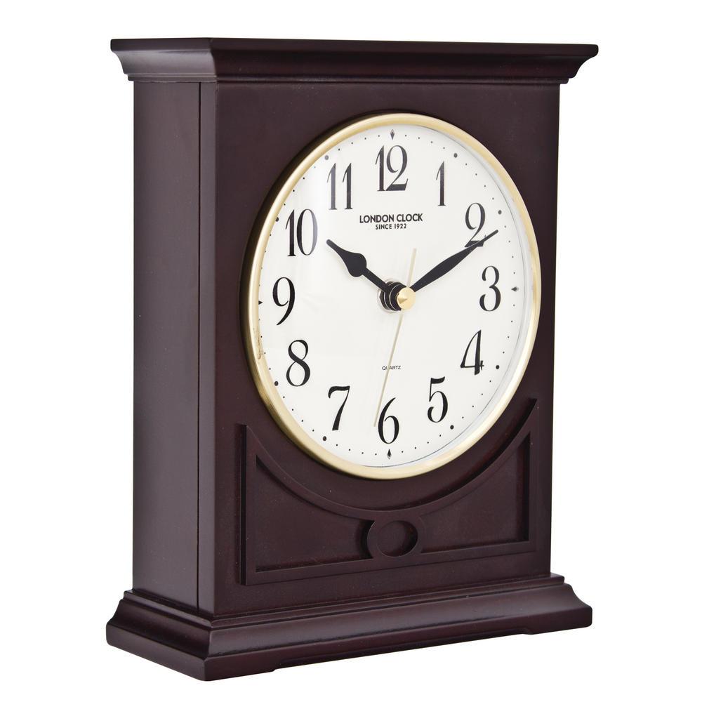 Flat Top Mantel Clock