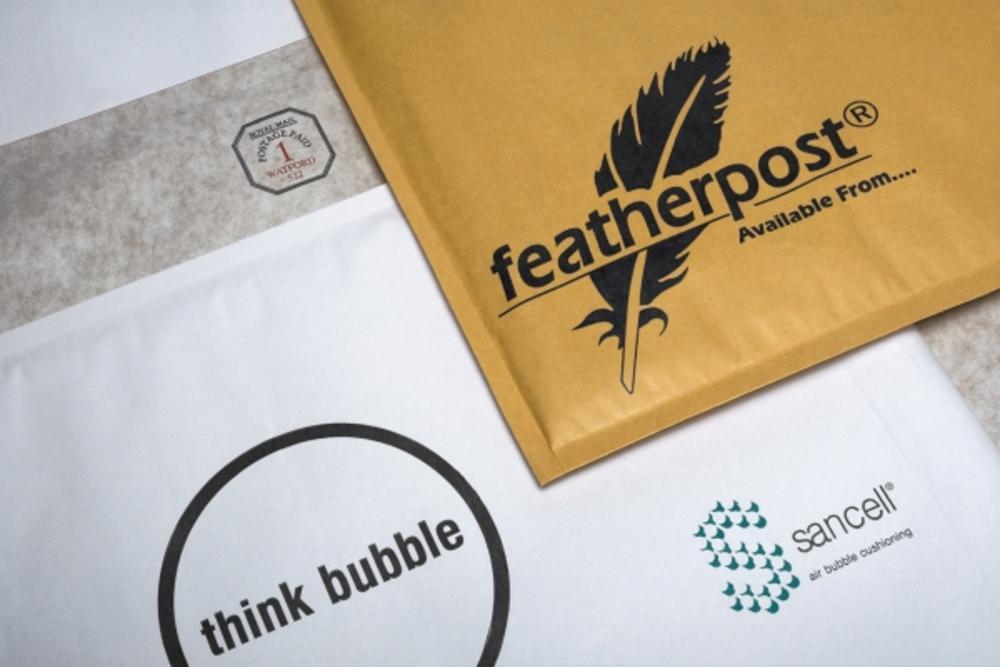 Featherpost White Mailer Size E