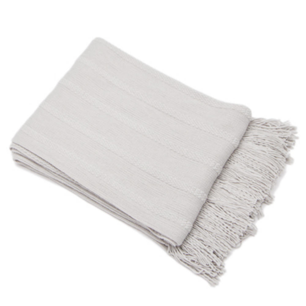 Malini Nile Throw Silver