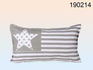 Neck Cushion Star And Stripes Design  50x30 Cm 35 % Cotton & 65% Polyester Thumbnail 1