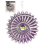 Hanging Stainless Steel Sun Catcher Orbit Spinner Cyclove 12""