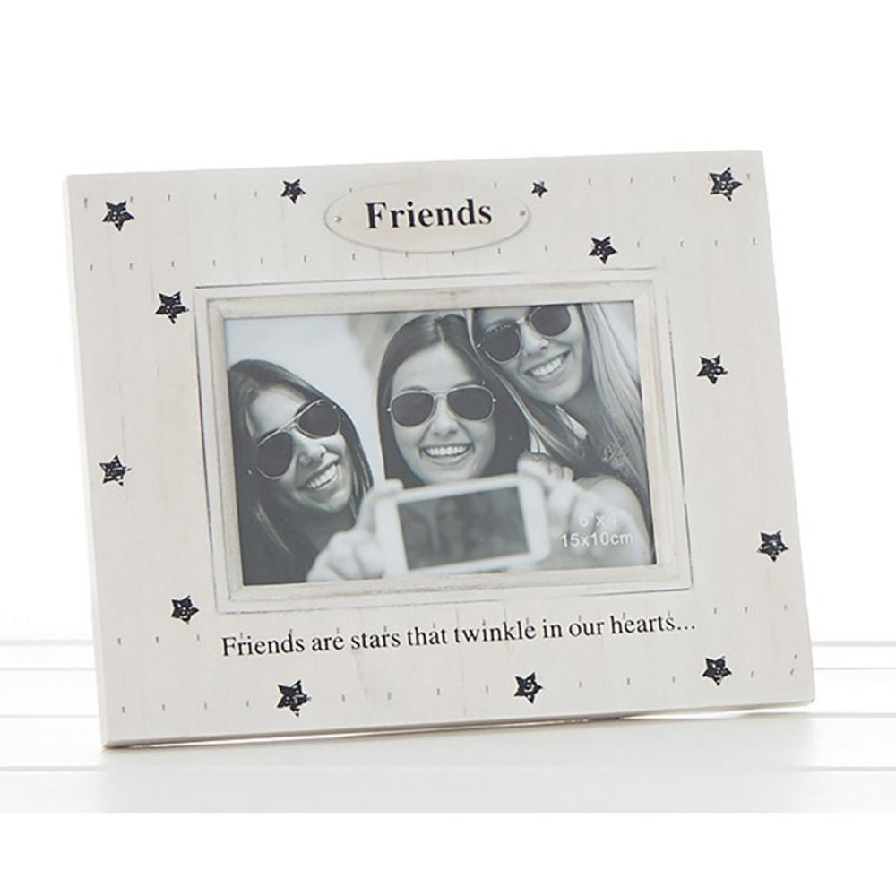 Star Print Frame Friends Are Stars That Twinkle In Our Hearts
