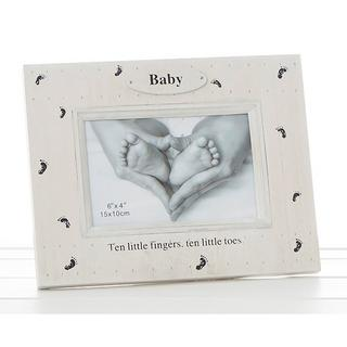 Foot Print Frame Ten Little Fingers Ten Little Toes Thumbnail 1