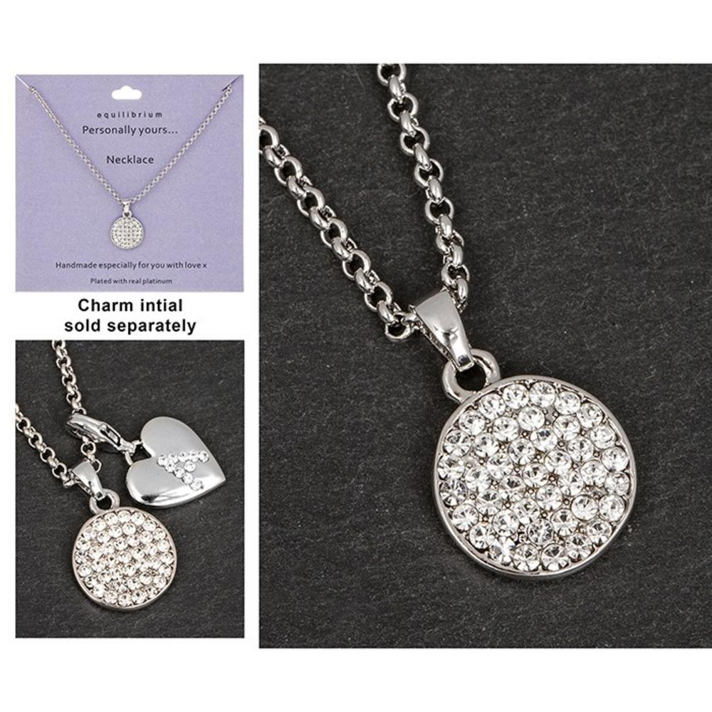 Platinum Plated Personally Yours Necklace