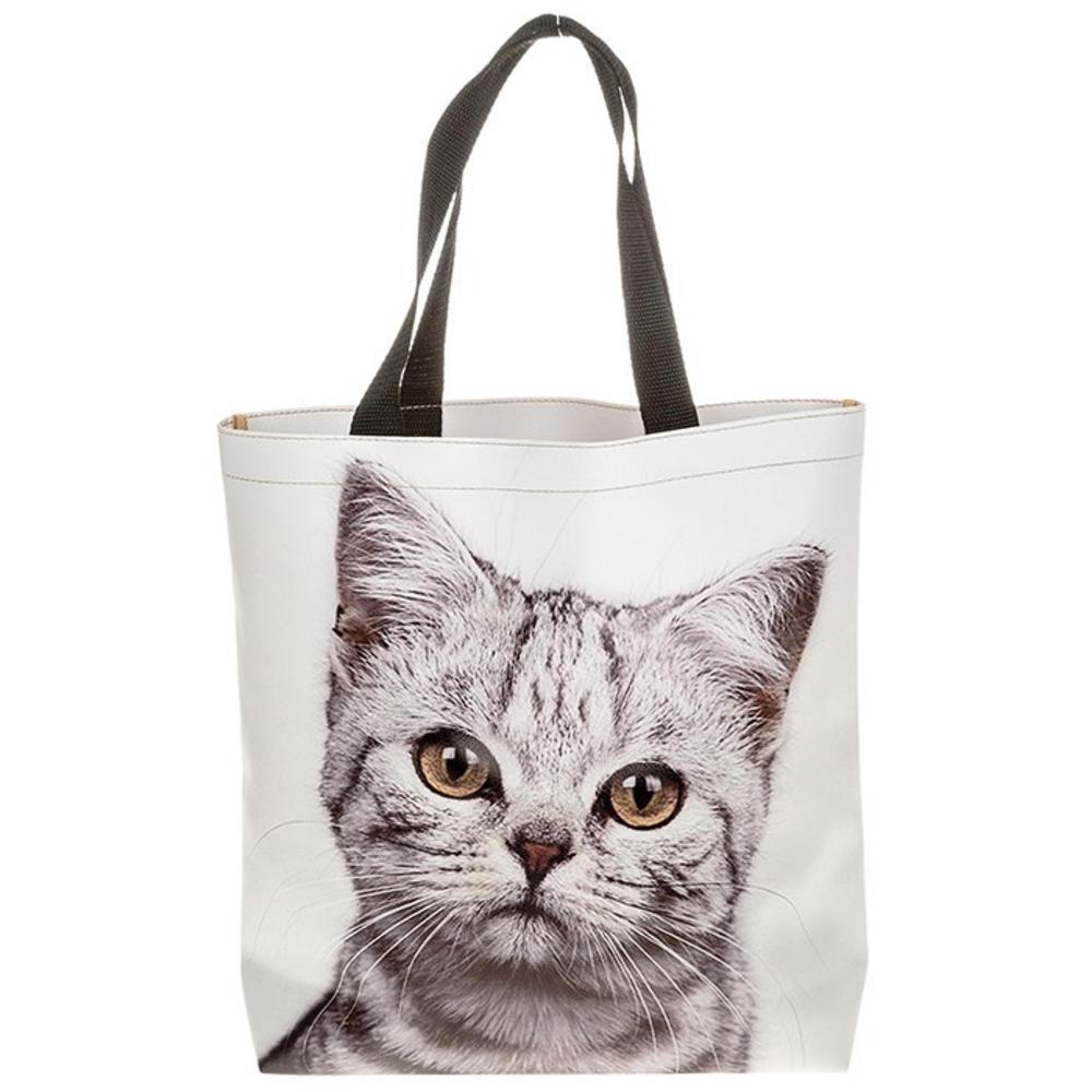 Visage Supermarket Bag Cat