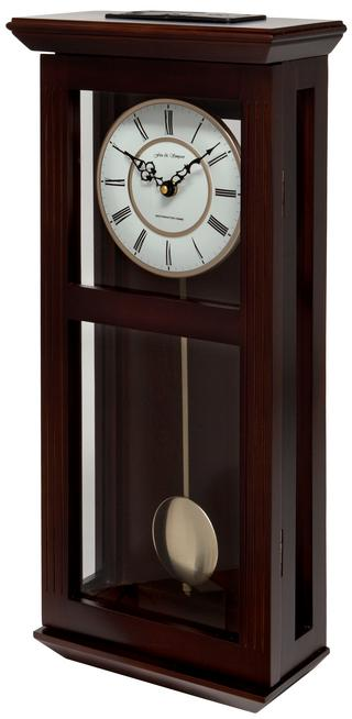 Ashton Walnut Pendulum Clock with Westminster Chimes Thumbnail 2