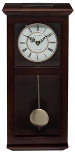 Ashton Walnut Pendulum Clock with Westminster Chimes