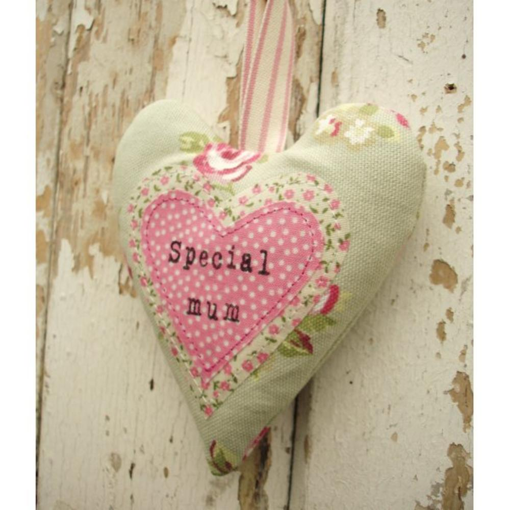 Special Mum Hanging Heart