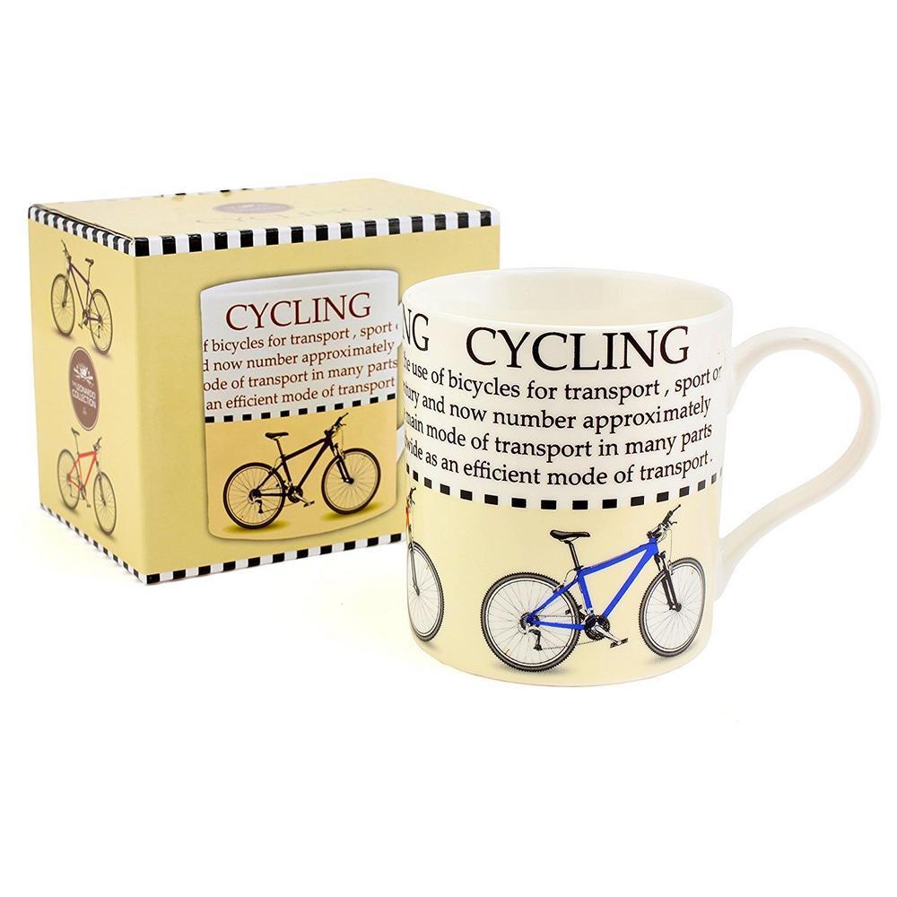 The Leonardo Collection Gift Boxed Cycling Mug