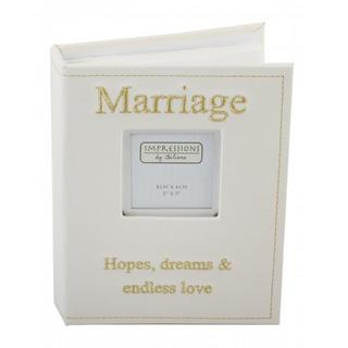 Juliana Faux Leather Picture Photo Album With Beautiful Inscription - Marriage Thumbnail 1