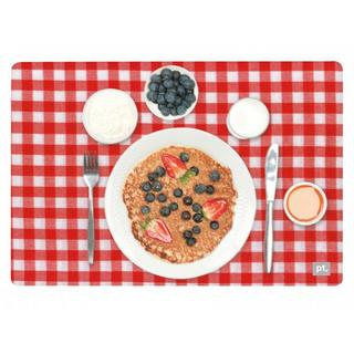 Pt Home Three Dimensional 3D Blueberry Pancake Place Table Dining Placemat Mat Thumbnail 1