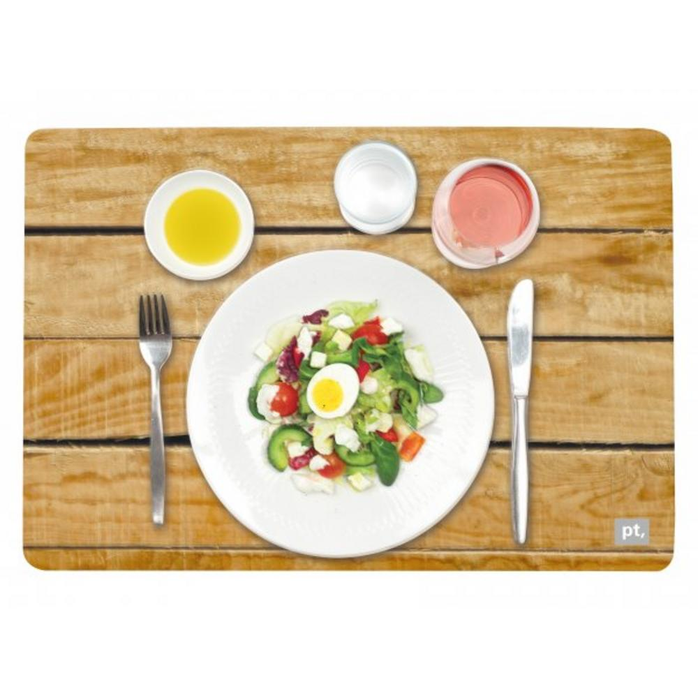 Pt Home Three Dimensional 3D Picnic Salad Place Table Dining Placemat Mat