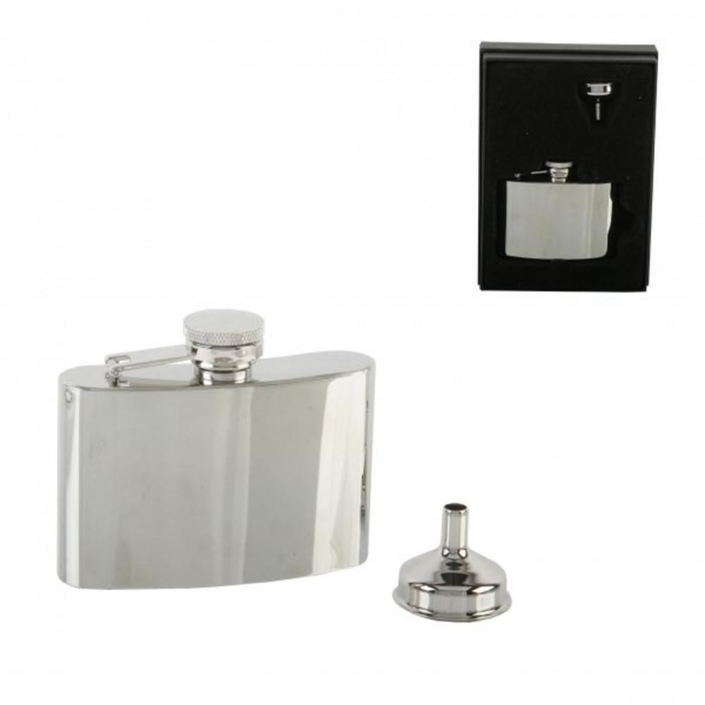 4Oz Stainless Steel Hip Flask