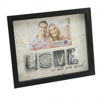 New View Mdf Photo Phrases Frame - Love Theme Thumbnail 1