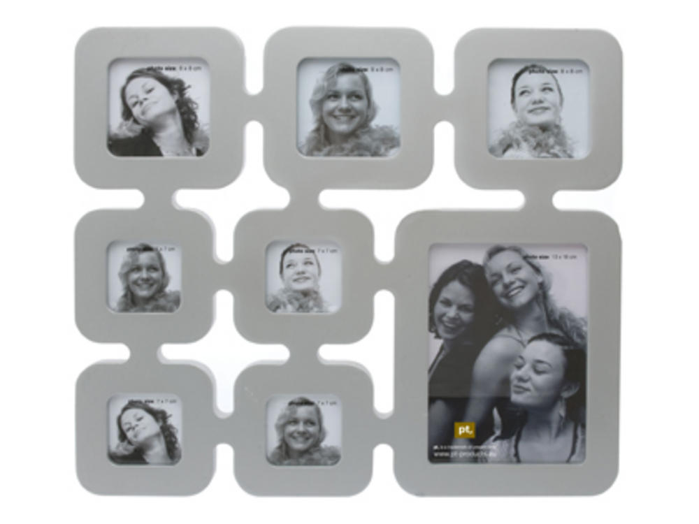 Pt Photo Frame Genealogy Collage Frame In Silver