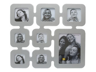 Pt Photo Frame Genealogy Collage Frame In Silver Thumbnail 1
