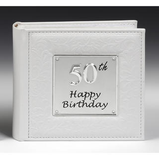 Deluxe Photo Album 50th Birthday Thumbnail 1