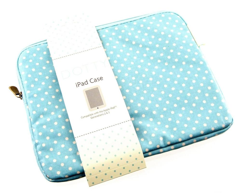 Dotty Blue Ipad/Tablet Case