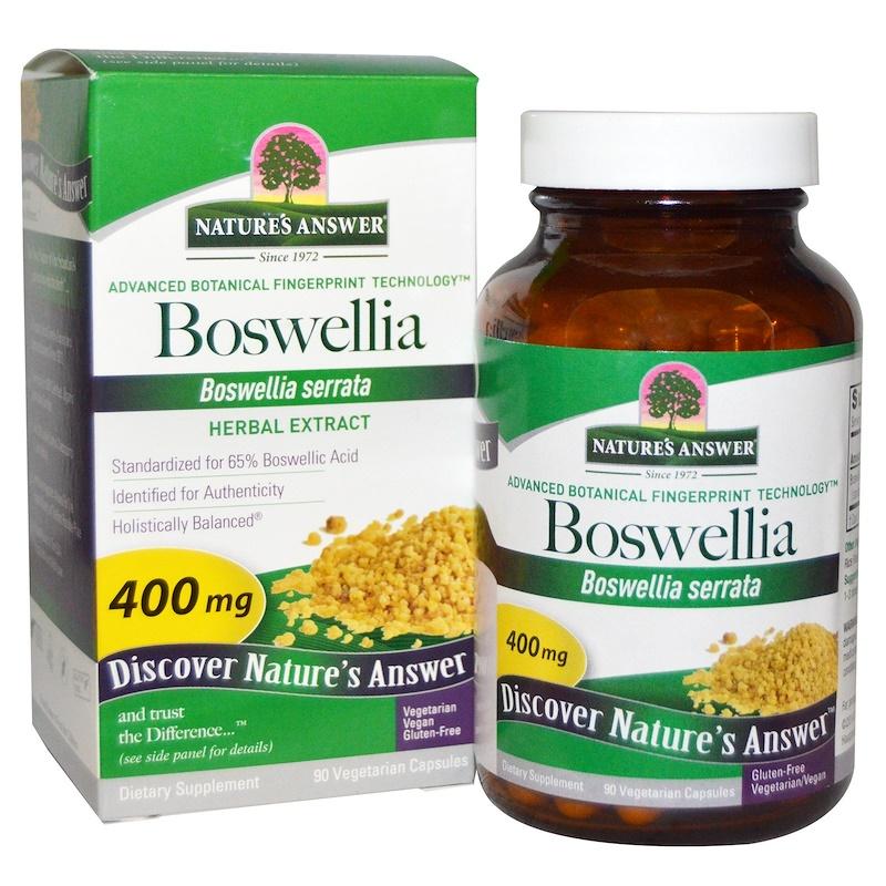 Dettagli su Nature's Answer, Boswellia, 400mg x 90 Vcaps- mostra il titolo  originale