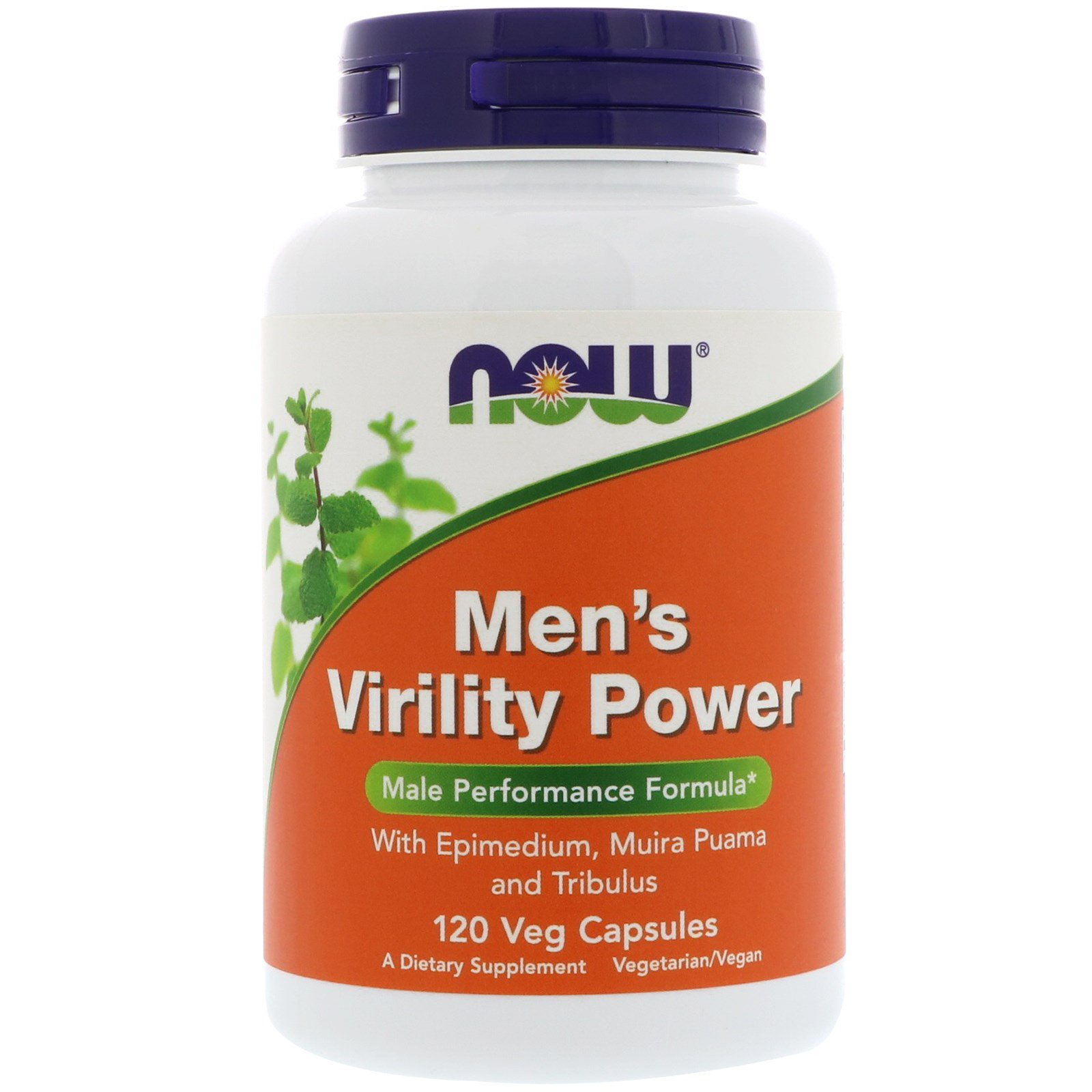 Now Foods Mens Virility Power, X120Vcaps- With Macca -6810