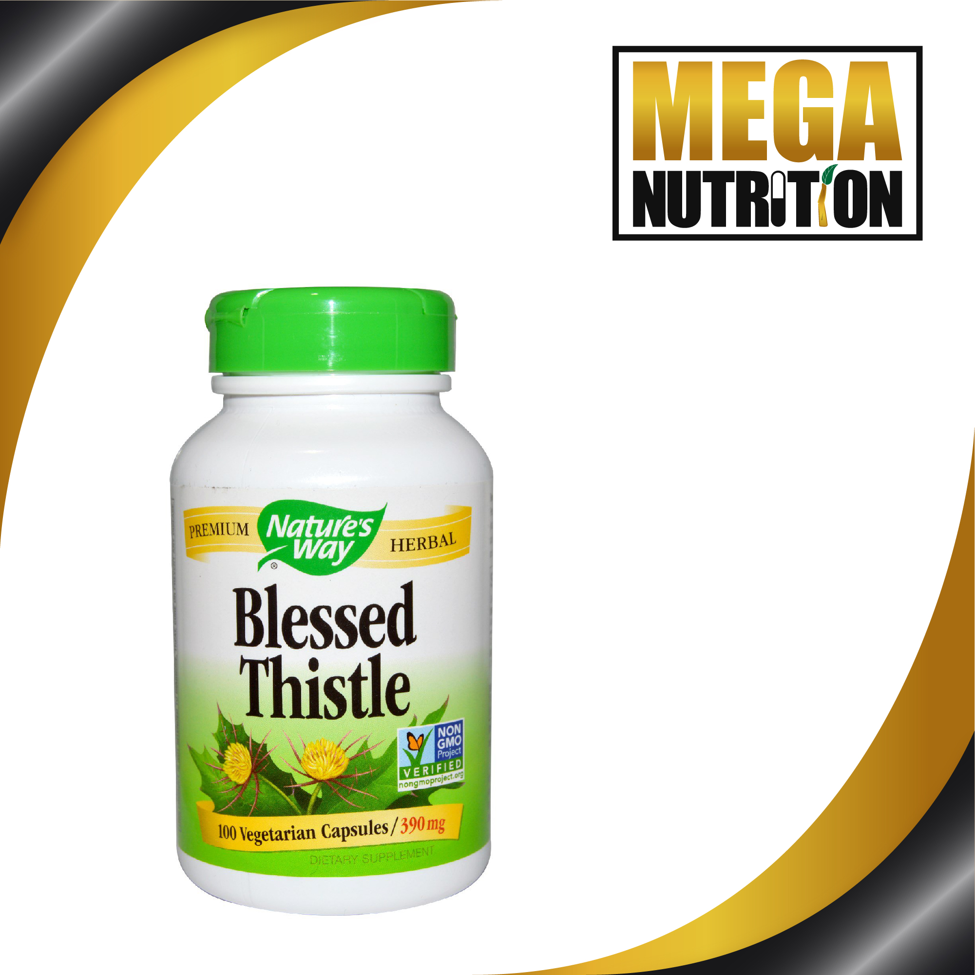 Nature's Way Blessed Thistle 390mg 100 Veggie Caps ...
