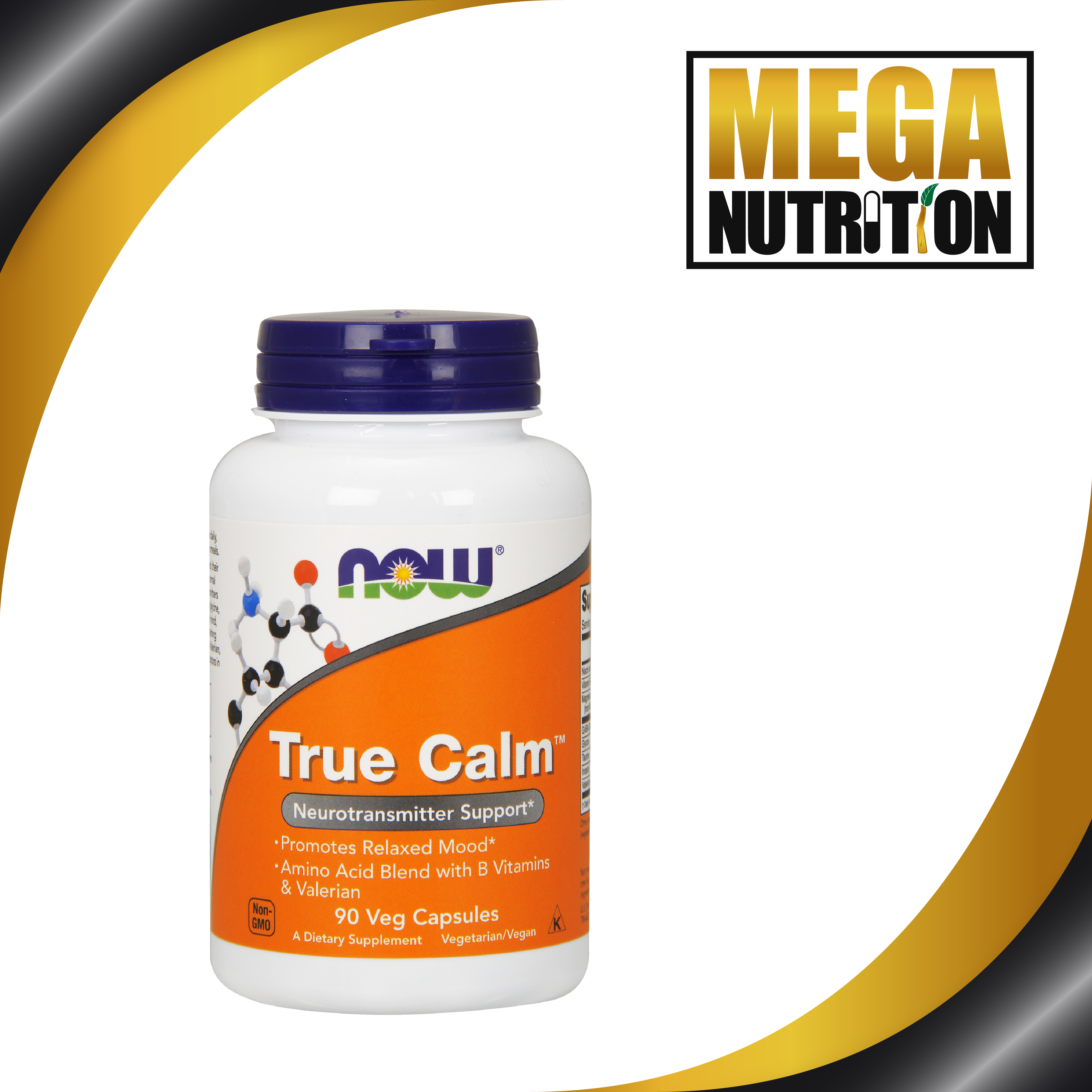 Details about NOW Foods, Anti-Stress Formula, x90caps