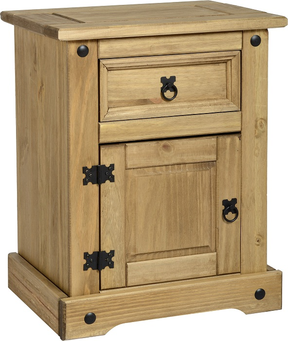 Chest Of Drawers Pine Corona Bedroom Furniture Solid Wood Bedside