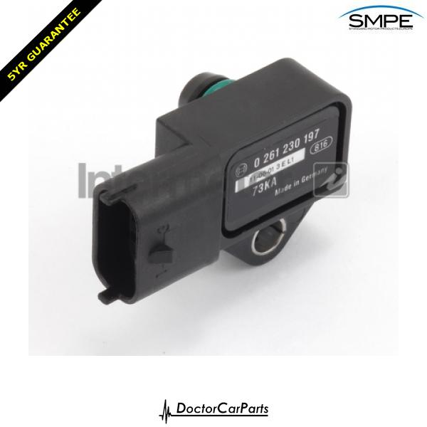 Inlet Manifold Sensor MAP FOR SPLASH 08->ON CHOICE1/2 1.0 1.2 Petrol EX SMP