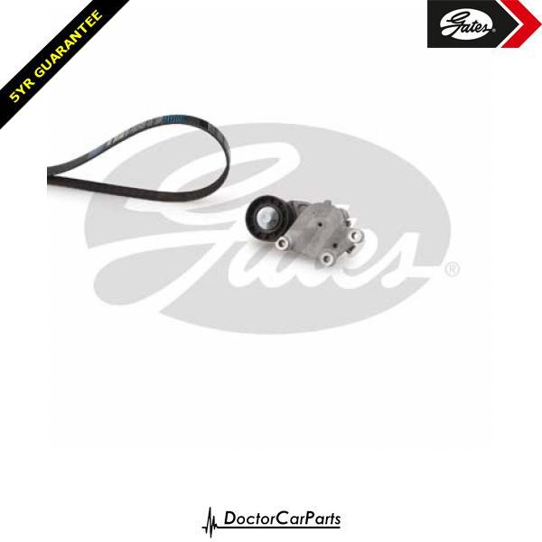 Gates Drive Belt Kit Alternator for FORD FOCUS 1.6 CHOICE1/2 TDCi W/Ac C-MAX DA