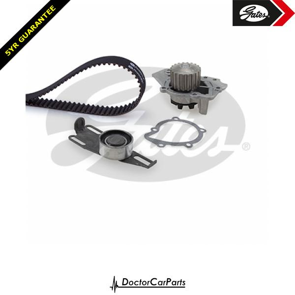 Gates Timing Cam Belt and Water Pump Kit for PEUGEOT 205 1.6 1.9 CHOICE2/2 GTI