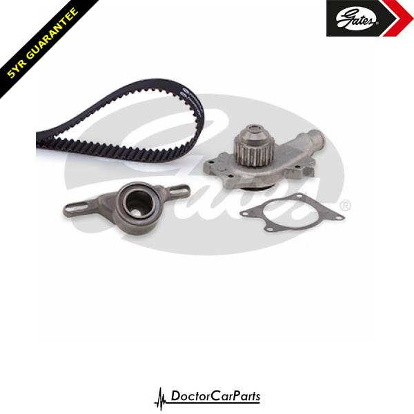 Gates Timing Cam Belt and Water Pump Kit for FORD FIESTA 1.6 CHOICE2/2 XR2 XR2i