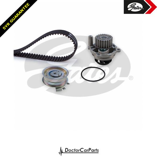 Gates Timing Cam Belt and Water Pump Kit for SEAT LEON 1.6 BSE 1P 102bhp