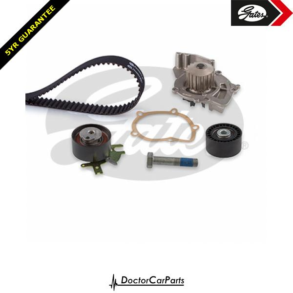 Gates Timing Cam Belt and Water Pump Kit for FORD S-MAX 2.0 CHOICE2/2 TDCi WA6